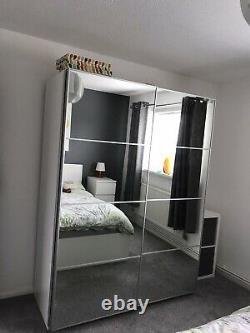 Auli Sliding Mirror Wardrobe Doors x 2