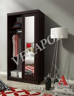 BNWB WARDROBE With MIRRORS, sliding doors bedroom hallway living room furniture