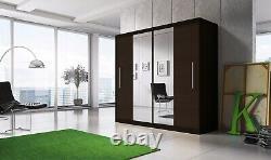 Brand new modern design wardrobe TORONTO 6 ft 8 inch(204cm) Sliding doors