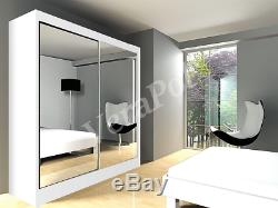 CHEAPEST WARDROBE With MIRRORS, sliding doors bedroom hallway living furniture