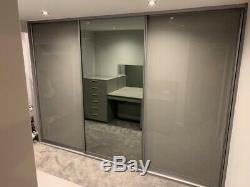 Fitted Wardrobe Sliding Mirror Glass Doors. Made To Measure. Custom Design