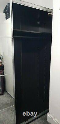 IKEA PAX Double wardrobe sliding doors, Half Mirrored. Grab a bargain