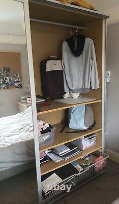 Ikea pax wardrobe sliding Mirror doors