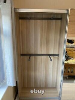 Ikea pax wardrobe sliding doors 200cm X 44cm X 201cm With Mirrors