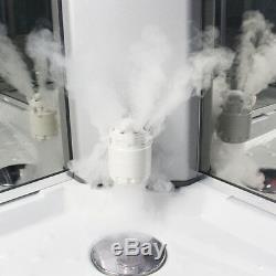 Insignia Steam Shower Cabin Enclosure Cubicle 100x100cm Quadrant 2nd Generation