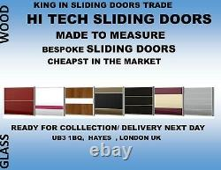 Made To Measure Sliding Wardrobe Doors, Any Color, Any Size