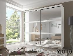 Perfect Bedroom Wardrobe Mirror''MU'' Sliding Door 233 Wide Perfect interior