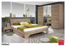 Rauch'Fellbach' Range German Made Bedroom Furniture. San Remo Oak Finish