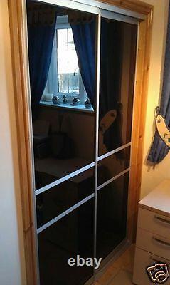 Sliding Mirror Wardrobe Doors Made To Measure. Manufactured in the U. K