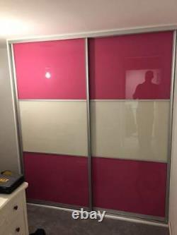 Sliding Wardrobe Mirror Glass Gloss Panel Doors. Made To Measure. Custom Design