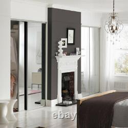 Spacepro 4 Door Mirror Glass Sliding Wardrobe H2260mm x W3606mm