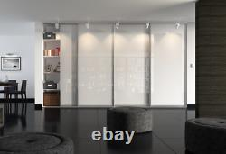 Uk Hand Made New Fitted Sliding Wardrobe Doors With Free Track & Delivery